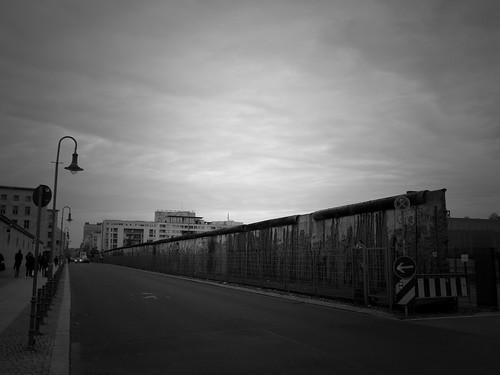 Mur de Berlin, Niederkirchnerstrasse, Berlin, Allemagne