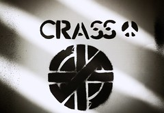 (Crausby) Tags: art design artwork stencil punk peace graphic symbol inner anarchy brand sleeve 4s iphone crass anarcho feedingofthefivethousand uploaded:by=flickrmobile bleachedfilter flickriosapp:filter=bleached