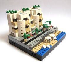 French Riviera : another apartment block (JETfri) Tags: lego microscale ffol