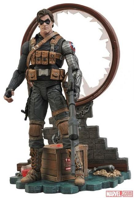 Marvel Select – 酷寒戰士 Winter Soldier 迪士尼商店限定 勁涼上市