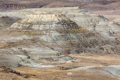 Grasslands National Park Badlands (Free Roaming Photography) Tags: canada abstract west color landscape nationalpark killdeer hills erosion sediment western northamerica badlands geology saskatchewan grasslands eastblock buttes striations grasslandsnationalpark