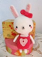 Amigurumi Swettheart bunny