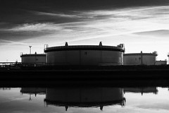 Just Tanks (Lexandeer) Tags: light blackandwhite industry canon pain 5d
