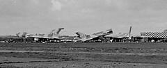 Vulcan B.1A Scrapping (eLaReF) Tags: bw white black airplane aeroplane vulcan scrapping derelict