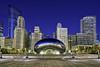 Cloud Atlas, Millennium Park - Chicago (DiGitALGoLD) Tags: park city cloud chicago nikon downtown cityscape millennium atlas millenniumpark nikkor cloudatlas gitzotripod nikond4 chromebean 1424mm digitalgold