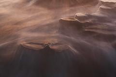 La Jolla Potholes (_AM_photography) Tags: sunset seascape beach water lajolla holes pot splash reef hospitals