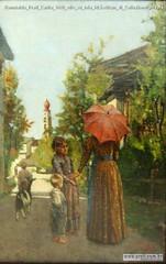 Romualdo Prati Carita 1890 olio su tela 60,5x40cm di Collezione privata