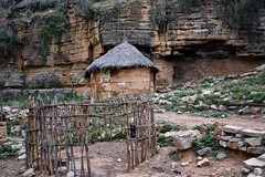 Oromo Tribe, Sof Omer (Rod Waddington) Tags: africa grass rock stone sticks village mud african traditional tribal cliffs hut omer ethiopia tribe corral ethiopian sof oromo