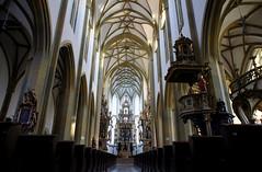 Augsburg church interior