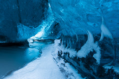 Ice Cave II (Sandra Herber) Tags: winter snow iceland glacier vatnajokull facebook icecave breiðamerkurjökull