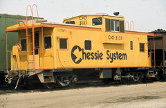 CABOOSE (rrradioman) Tags: 1974 caboose co chessiesystem 3131