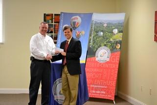 Entrepreneurial Center-Senator Orr & Larry Waye