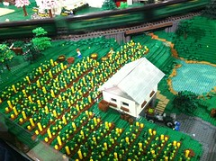 Greenberg train show (Kreativ Snail) Tags: train reading town vineyard lego farm pa grapes greenberg 2013 pennlug