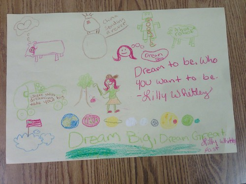 Visual Notetaking: Dream Big! by Wesley Fryer, on Flickr