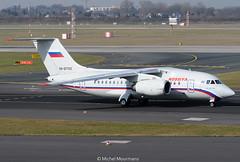 RA-61705 AN-148 Rossiya Airlines (MM - Aviation Photography) Tags: dusseldorf dus antonov rossiya an148 ra61705