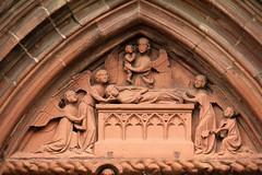 Relief (gripspix (OFF)) Tags: church germany deutschland baden münster badenwürttemberg tympanum breisach tympanon 20130821