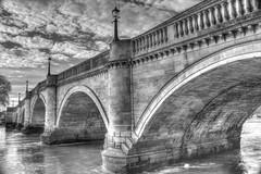 Beautiful Richmond Bridge (ArtGordon1) Tags: uk bridge england london thames architecture river arches richmond riverthames waterway richmondbridge davegordon davidgordon stonearches impressedbeauty artgordon1 daveartgordon daveagordon davidagordon