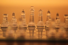 4:51 in 2014 - DOF (lorainedicerbo) Tags: glass pieces dof chess depthoffield chessboard 452in2014