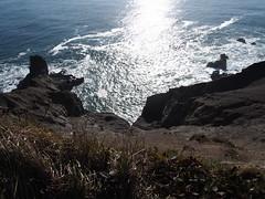 P1250060 (benguernsey) Tags: ocean cliff beach oregon pacific astoria cannonbeach oswaldwest shortsands traveloregon
