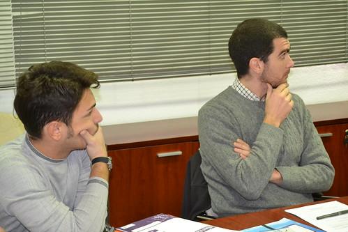 Recepción estudiantes de masters INPS