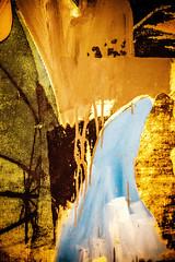 Blue Llight (Thomas Hawk) Tags: sanfrancisco california usa museum painting unitedstates unitedstatesofamerica sfmoma soma robertrauschenberg rauschenberg sanfranciscomuseumofmodernart