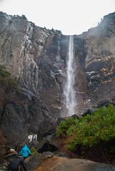 Base of Bridalveil Fall (www78) Tags: california park fall waterfall el national yosemite portal bridalveil