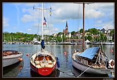 Flensburg / Hafen (Westseite) mit Blick auf die Ostseite (berndwhv) Tags: deutschland hafen ostsee schleswigholstein flensburg flensburgerhafen