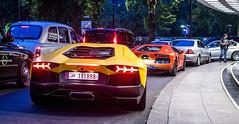 Aventadoooorssss (TS Multimedia) Tags: orange yellow arab lamborghini dorchester matte qatar supercars v12 lambo aventador