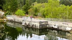 Stuwdam bij Llyn Elsi