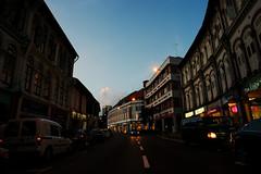 Sundown (Explored) (OzGFK) Tags: street sunset evening nikon singapore asia chinatown afternoon bbq korean nikkor duxton tanjongpagar