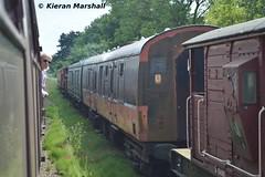 3178 at Rothley, 22/6/14 (hurricanemk1c) Tags: irish train rail railway trains railways irishrail 2014 mark1 rothley greatcentralrailway gcr mk1 gsv iarnrd 3178 ireann iarnrdireann steamgenerationvan 1345leicesternorthloughboroughcentral