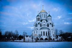 Church of St. Sergius of Radonezh (BANANA KEFIR) Tags: winter snow church architecture      solntsevo