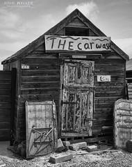 The Car Wash 23 (D John Walker) Tags: blackandwhite texture sign fisherman joke humor humour carwash hut fishermans southwold storeroom blackshorequay