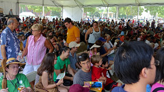 Big Tent (Mondmann) Tags: usa festival america washingtondc unitedstates crowd chinese performance culture tent spectators smithsonianfolklifefestival bigtent mondmann