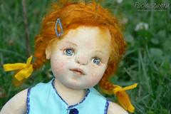 "Inka: 15"" rag OOAK doll / for sale (RGAdolls) Tags: sculpture art handmade ooak poland artdoll ragdoll collectibles softdoll puppe puppen waldorfdoll humanfigure clothdolls childfriendly fabricdoll pocieszanka"