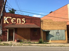 Buildings in Clairton. (pittsburgh is beautiful) Tags: old signs architecture pittsburgh font timey clairton