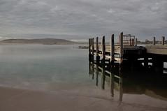 Jetty after sunset (Kalbarri) (AlanM images) Tags: ocean sunset beach clouds coast nikon jetty australia wa kalbarri d90