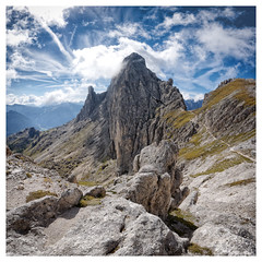 Dolomites I (::YS::) Tags: yann savalle yannsavalle yasa sony alpha700 dolomites dolomiti italy italia tyrol sud sudtyrol south sdtirol panorama landscape nature montain montage wild