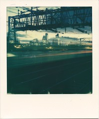 The Journey Home (Ray Liu (Photographer)) Tags: train traintrails lighttrails roidweek2016 roidweek polaroidweek polaroid cityoflondon lowlight longexposure