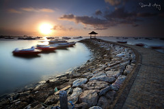Benoa Sunrise (Randi Ang) Tags: tanjung benoa bali indonesia landscape seascape long exposure beautiful scenery randi ang canon eos 5d filter lee big stopper hitech