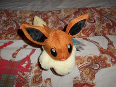 Eevee plush (ItalianToys) Tags: toy toys giocattolo giocattoli eevee pokemon peluche plush
