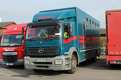 Unknown owner 06-KE-9269, Mercedes Axor in Cheltenham (majorcatransport) Tags: irishhaulage mercedesbenz mercedesaxor cheltenham