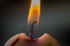 Happy first birthday (ruimc77) Tags: nikon d810 sigma 105mm f28 ex dg os hsm macro 11 chama llama flame candle vela fire fuego fogo happy birthday primeiro aniversrio primer cunpleaos arte art energia energy