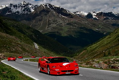 Reds (D.N. Photography) Tags: ferrari f50 eos exotic exotics automotive auto automobile automobiles austria vehicle vehicles 7d road mountain mountains pass canon cars car supercars supercar transportation outdoor outdoors outside worldcars sterreich timmelsjoch tirol luxury luxurycar luxurycars hypercars hypercar