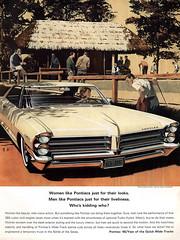 1965 Pontiac (Tom Simpson) Tags: ad ads advertising advertisement vintage vintagead vintageads 1965 1960s pontiac car 1965pontiac