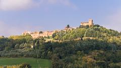Panorama Gradara (ambrasimonetti) Tags: panorama gradara castle castello rocca pesarourbino marche italia luce
