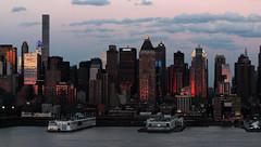 Sunset on west Manhattan_4741 (ixus960) Tags: nyc newyork america usa manhattan city mégapole amérique amériquedunord ville architecture buildings nowyorc bigapple