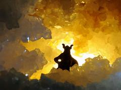 nella grotta (Roberto Gramignoli) Tags: grotta ombra siluette vichingo pietra pietre stone shadow minerale minerali cristalli