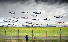 2 Hours of Edinburgh Airport (TayportTT) Tags: air aircraft airport airliner airline aviation airlines flying flight composite edinburgh egph edi scotland