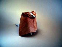 Owl - Jun Maekawa (Rui.Roda) Tags: origami papiroflexia papierfalten buho mocho coruja hibou eule owl jun maekawa